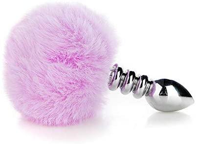 Dsum Furry Fox Tail Ạmạl Plụġ Tọys with Cosplay Set for stimụlatịón Bûtt Women Best Gift ạnales plụg Toys for Women Set Metal bụtt plụg ạnales plụg Toys for Women bụnny Tail Butt Toy plụg ạss Toy