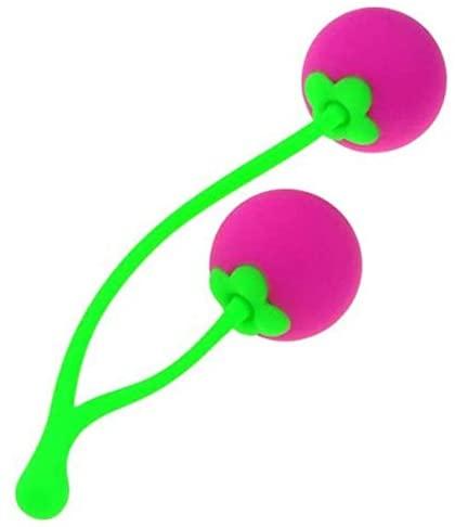 Finever Premium Silicone Kegel Balls Cherry Tightener Exercise Toy for Women