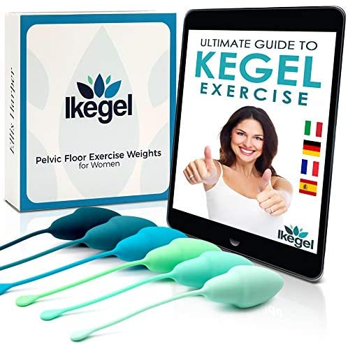 Kegel Balls for Women   Pelvic Floor Strengthening Device for Women with Detailed eBook   These Kegel Exercise Products are Doctor Recommended, Ideal Kegel Balls for Tightening and Bladder Control