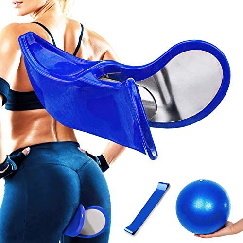 Mangotrez Hip Trainer - Pelvic Floor Strengthening Device Women – Kegel Exerciser and Booty Building Machine – Makes a Perfect Booty Trainer for at Home Workout
