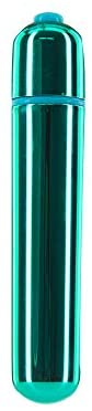 Pure Love 3.5 Inch Vibrating Bullet Teal Color, 3 Speed and Waterproof with Simple One Button Speed Control, Adult Sex Toy