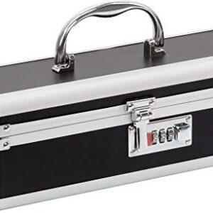 Pure Love Adult Toy Box, Lockable Storage Case, Vibe Case, Vibrator Chest, Black