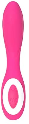 Pure Love G-Spot Silicone Vibrator Pink, Rechargeable, Water-Resistant and Multi Function, Adult Sex Toy