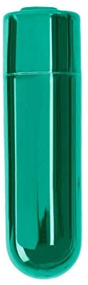 Pure Love Mini Bullet Vibrator, Rechargeable, Travel Size, Adult Sex Toy, Color, Green, 1 Count