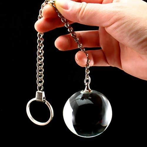 Kegel Glass Ball Smart Ben Wa Ball Exercise Tighten Vagina Pelvic with Chain 5 Sizes Waterproof Bladder Control for Women Fun (Dia.4.0 cm/1.57 inch)